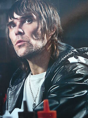 Ian Brown (Stone Roses) - Magazine Cutting (Full Page Photo) (Ref Lb)