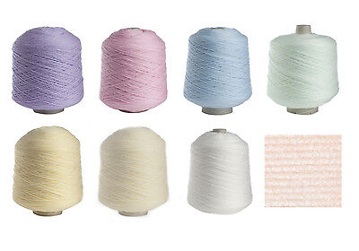 James Brett 500g Baby 4 Ply Pastel Cone Acrylic Hand or Machine Knitting Wool
