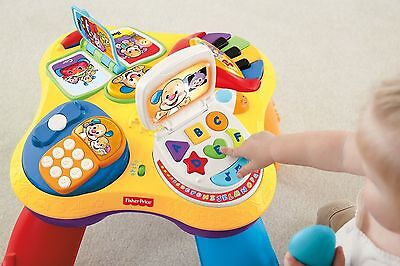 Fisher Price Laugh & Learn Activity Puppy Friends Piano Table ~Display Model~