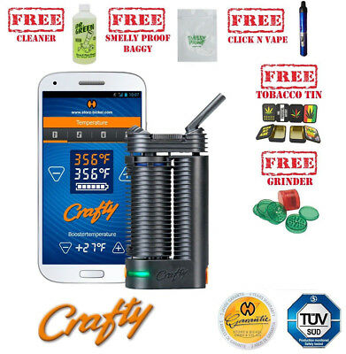 Crafty by Storz & Bickel Portable Handheld Vaporizer Plus FREE GIFTS - Authentic