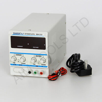 DC 0-30V 0-3A Single Output Electronic Precision Adjustable Power Supply 312059