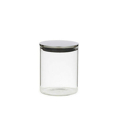 NEW Davis & Waddell Glass Canister w/ S/S Lid 800ml