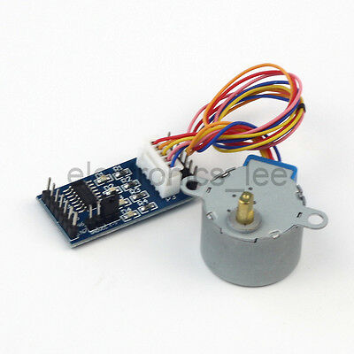 28BYJ-48 5V 4 Phase DC Stepper Reduce Motor /w ULN2003 Driver Board for Arduino