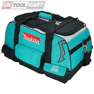 """Makita LXT400 Bag 58cm 23"""" 4pc LXT Heavy Duty Padded Toolbag With Shoulder Stap"""