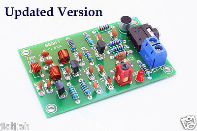 76-110MHz FM Radio Transmitter MP3 Audio Wireless Anti-interference Sender Plate