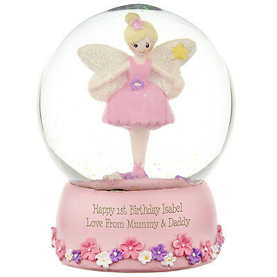 New Personalised Snow Globe Choose From 3 Designs Christmas Daughter Son Gift