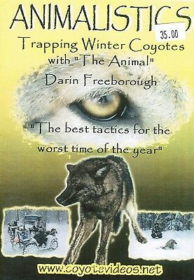 DVD, Freeborough-Trapping Winter Coyotes