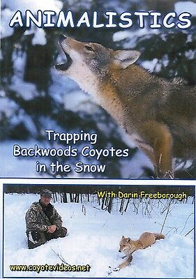 DVD, Freeborough-Trapping Backwoods Coyotes in the Snow