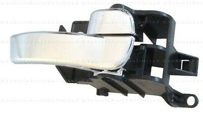 Chrome Inside Door Handle Driver Right Fits: Nissan Frontier Pathfinder Xterra