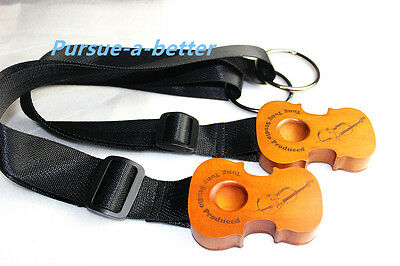 7pcs brand new Lei Muk Cello Rock Stop End Pin Stand Holder with straps