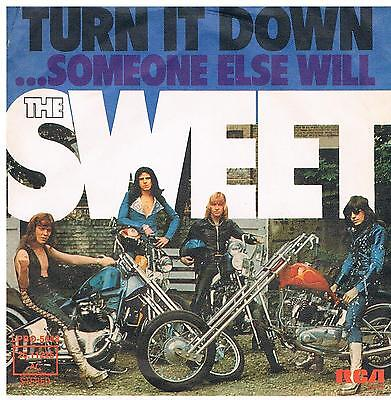 "Sweet-Turn it down/...Someone else will/7"" Single von 1974"