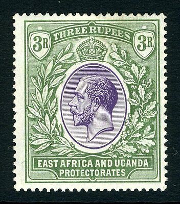 K.U.T-1921-22 3r Violet & Green.  A mounted mint example
