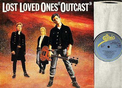 OUTCAST lost loved ones EPC 26357 A1/B1 1st press uk epic 1985 LP PS EX+/EX