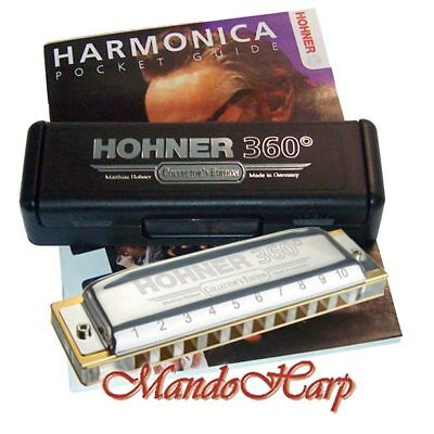 Hohner Harmonica - 55/20 360° Special Collectors' Edition - KEY OF C - NEW