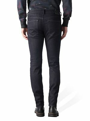 Diesel Jeans Buster Fit Tapered 0607A Regular Blue Medium treated  Stretchy