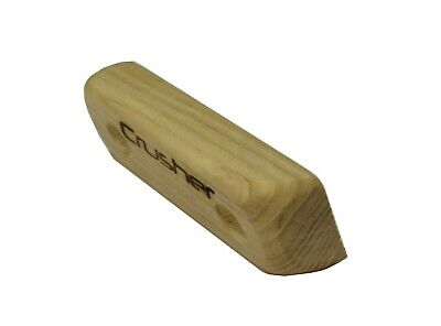 Crusher Holds - Wooden Climbing Holds/System Crimps - Style 1 - 25mm - Set of 8
