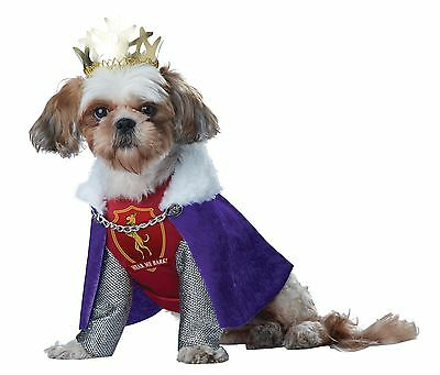 Renaissance Medieval Times King Of Bones Dog Pet Costume
