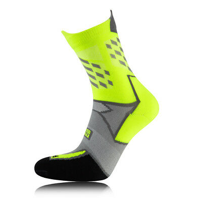 Hilly Lumen Mens Womens Coolmax Running Mid Height Anklet Sports Socks