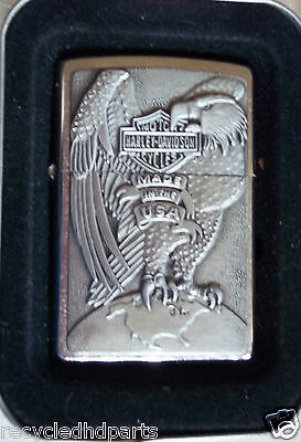 Harley-Davidson Zippo Lighter Made in the USA Eagle new
