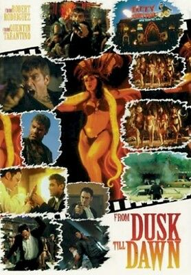 FROM DUSK TILL DAWN MOVIE POSTER ~ STYLE D 27x40 Georg Clooney Quentin Tarantino