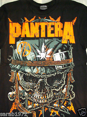 Pantera -  New Black Unisex Music Rock Band T-Shirts - S, M, L, Xl, Xxl