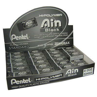 Pentel Black Eraser - Medium