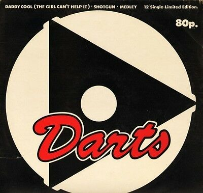 "THE DARTS daddy cool/shotgun/medley 12 MAG 100 uk magnet 12"" PS EX/EX"