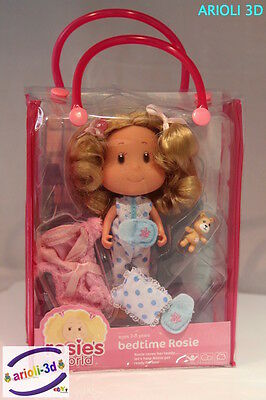 Rosie's World Adorable Mini Doll BEDTIME in bag with cloths and accessories NEW