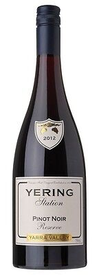 2012 YERING STATION RESERVE PINOT NOIR - Wine Auction House Pty Ltd