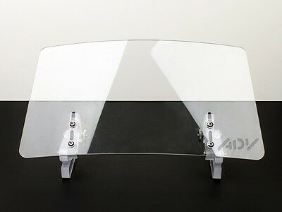 Wind screen deflector windshield windscreen ENDURO LARGE motorcycle motorbike