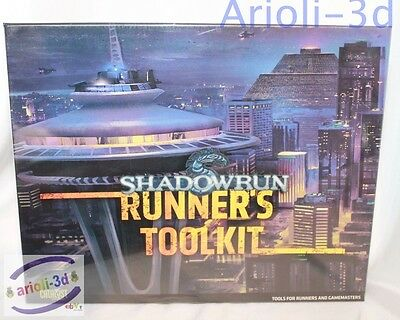 Shadowrun PACK OUT - RUNNER'S TOOLKIT -  CAT 27100 by Catalyst - NEW SEALED GAME
