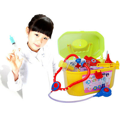 30Pcs Baby Kids Doctor Nurse Medical Play Set Case Kit Educational Role Play Toy