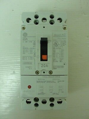 New GE Circuit Breaker, FCN36TE020R2, removed from unused panel