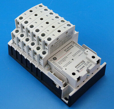 New General Electric CR463LC0ANA 11 Pole 11NO 277v CR460B Lighting Contactor