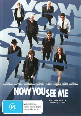 Now You See Me  - DVD - NEW Region 4