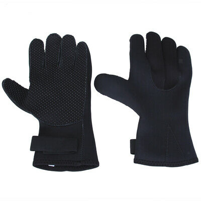 pair of Under Water Diving Spearfishing Neoprene Scuba Gloves S