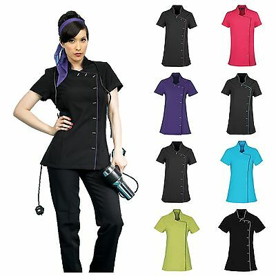 Spa Beauty Salon Beautician Tunic Nail Massage Therapist Hairdressing Uniform