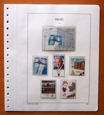 Israel 2006 Complete Year Set With Tabs 7 Kabe Leaves - All Stamps Mint Unhinged