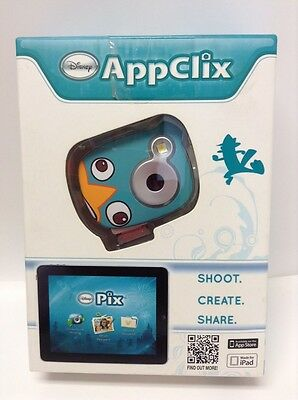 Brand NEW Disney AppClix Phineas & Ferb Perry The Platypus Camera 32MB Micro SD
