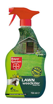 Lawn Weedkiller 750ml Ready To Use