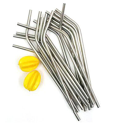 Best Stainless Steel Drinking Straw Reusable Washable for Bar party Xmas Party