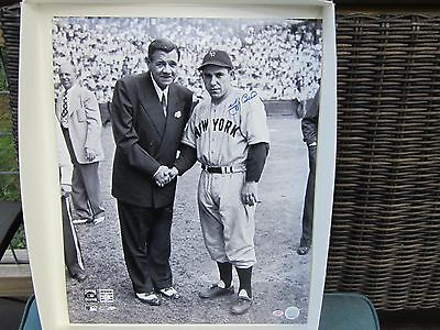 Yogi Berra Autograph / Signed 16 x 20 photo New York Yankees Babe Ruth