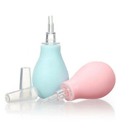 Cool Baby Nasal Vacuum Mucus Suction Aspirator Soft Tip Runny Nose Cleaner