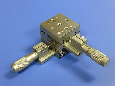 Newport ULTRAlign M-461-XY-M Linear Translation Stage, 2-Axis, SM-13 Micrometers