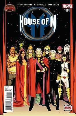 House Of M #1 2015 Marvel Lot Of 10X 1St Print Copies! Nm- Or Better!