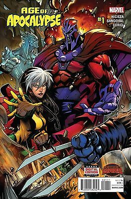 Age Of Apocalypse #1 2015 Marvel Secret Wars Lot Of 10X Copies Nm- Or Better