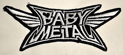 Babymetal Patch Embroidered Baby Metal sew on
