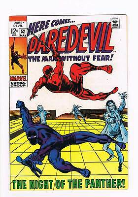 Daredevil # 52  The Night of the Panther !  grade 9.0 scarce book !!