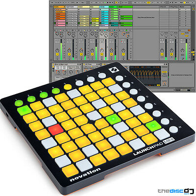Launchpad Mini MK2 *Latest* Novation Ableton Live Controller, Ableton Live Lite
