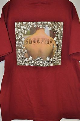 Nwt Sublime Band Maroon Concert T Shirt  Xl